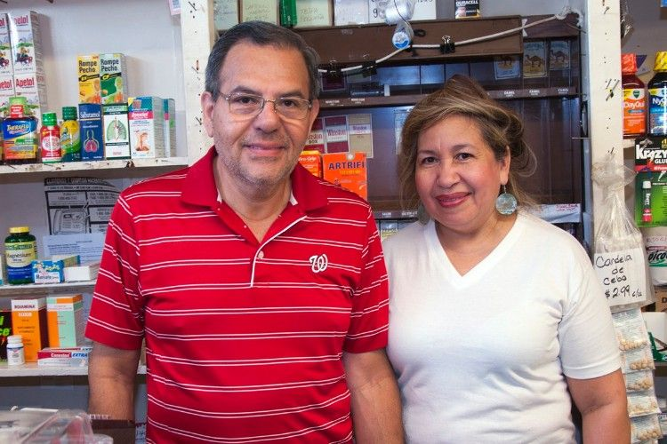 Plaza Market Owners Carlos and Rosa Morales