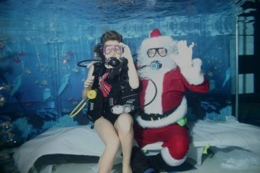 Annual SCUBA Santa Food Drive for the MUM Food Pantry
