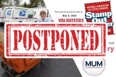 POSTPONED: Stamp Out Hunger 2020