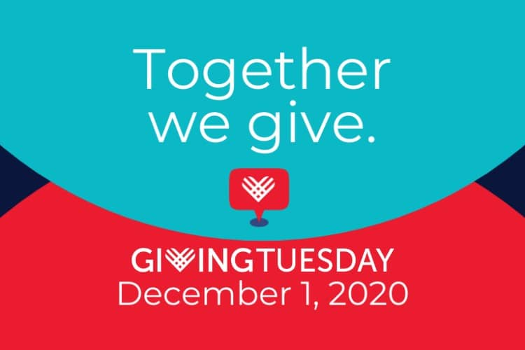 Giving Tuesday, December 1, 2020